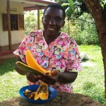 Florence, Traditional Birth Attendant for Shanti Uganda. (From Shanti Uganda website)