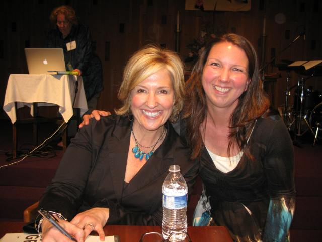 Brené Brown with my friend Lisa