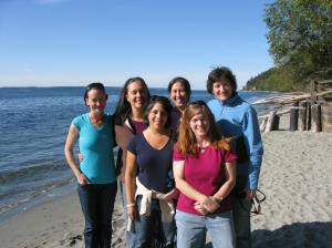 Lovely Ladies Book Group Retreat Whidbey Island 2009