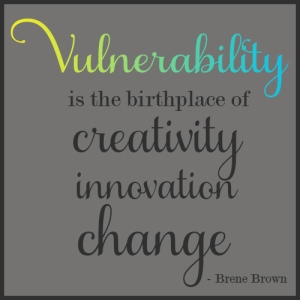 Thanks, Brene Brown!
