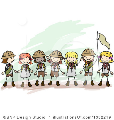 Girl Scout Camping Clipart From internet