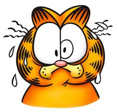 Garfield stressed